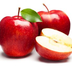 Red Apples on white. This file is cleaned, retouched and contains clipping path.
